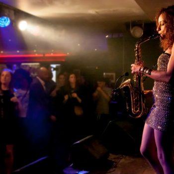 High on Heels - Female Musicians -